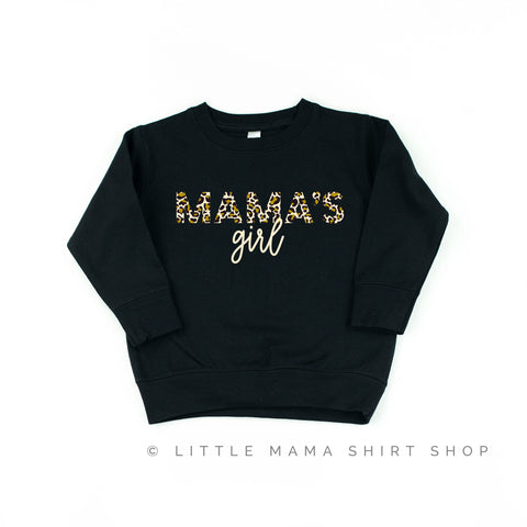 Mama's Girl - Limited Edition Leopard Design! - Child Sweatshirt
