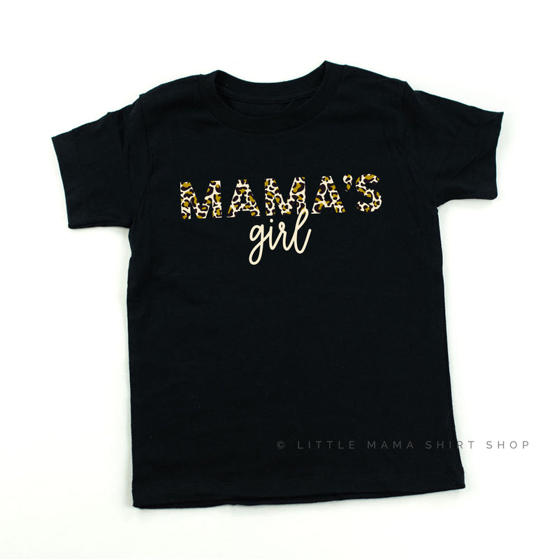 Mama's Girl - Limited Design - Child Shirt - Black or White