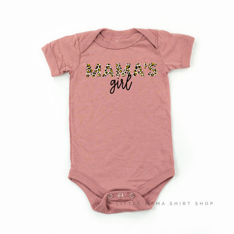 Mama's Girl - Limited Edition Leopard Design! - Child Shirt - Mauve