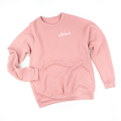 Motherhood - Fleece Crewneck Sweater - SEPTEMBER