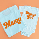 Retro Mama + Mama's Girl - Set of 2 Shirts