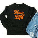 Mom Life (Retro) - Lightweight Pullover Sweater