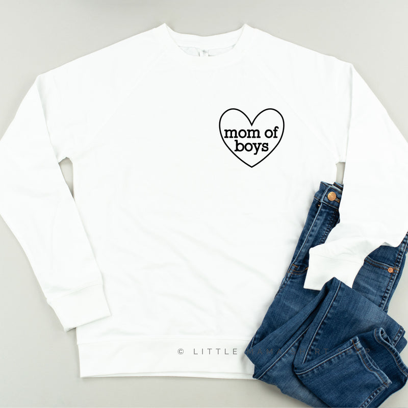 Mom of Boys / Boy Mama ♥ - Lightweight Pullover Sweater