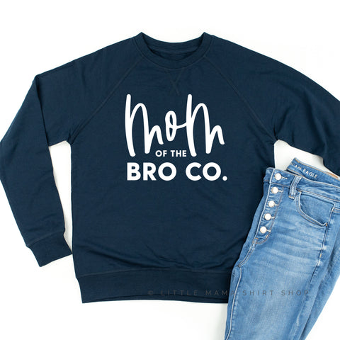 Mom of the Bro Co - Lightweight Pullover Sweater