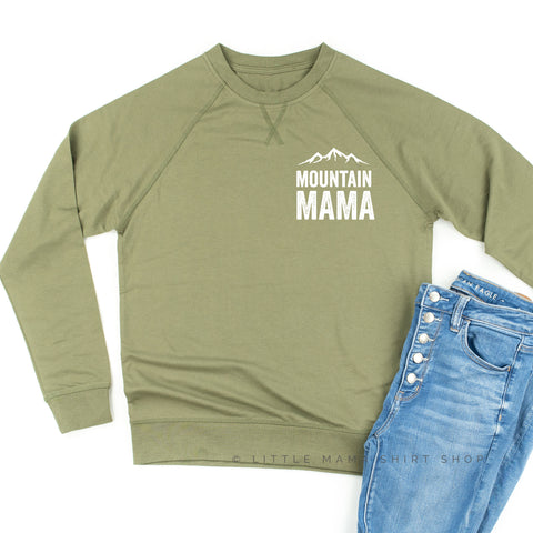 Mountain Mama - Lightweight Pullover Sweater