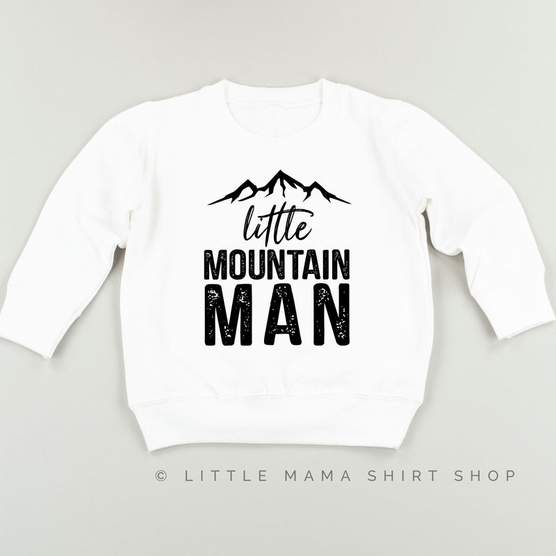 Little Mountain Man - Child Sweater