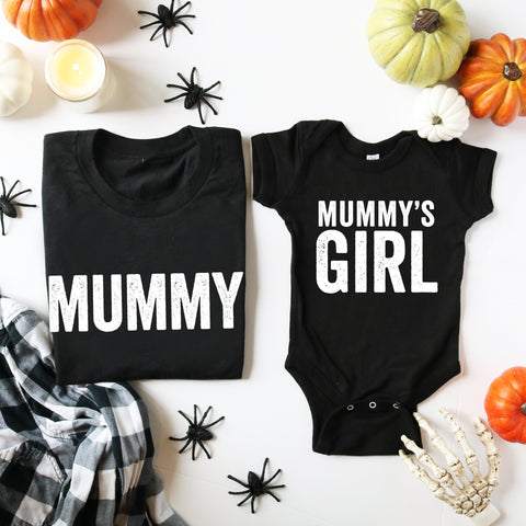 Mummy - Mummy's Girl - Set of 2 Tees