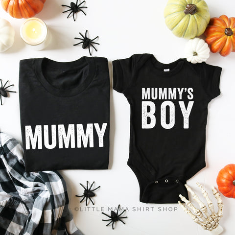 Mummy - Mummy's Boy - Set of 2 Tees