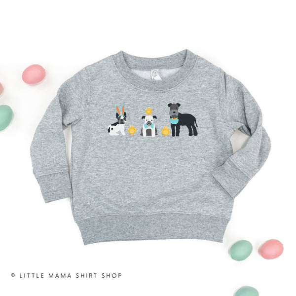 Easter Pups - Child Sweater