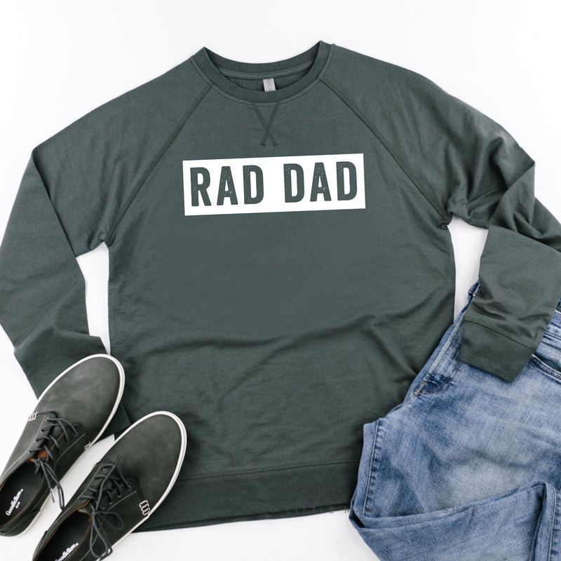 RAD DAD (One Line) - Lightweight Pullover Sweater
