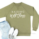 Raising Wild Things - Lightweight Pullover Sweater