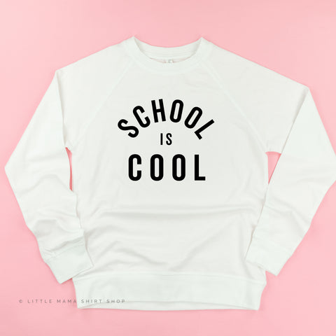 School is Cool - Lightweight Pullover Sweater
