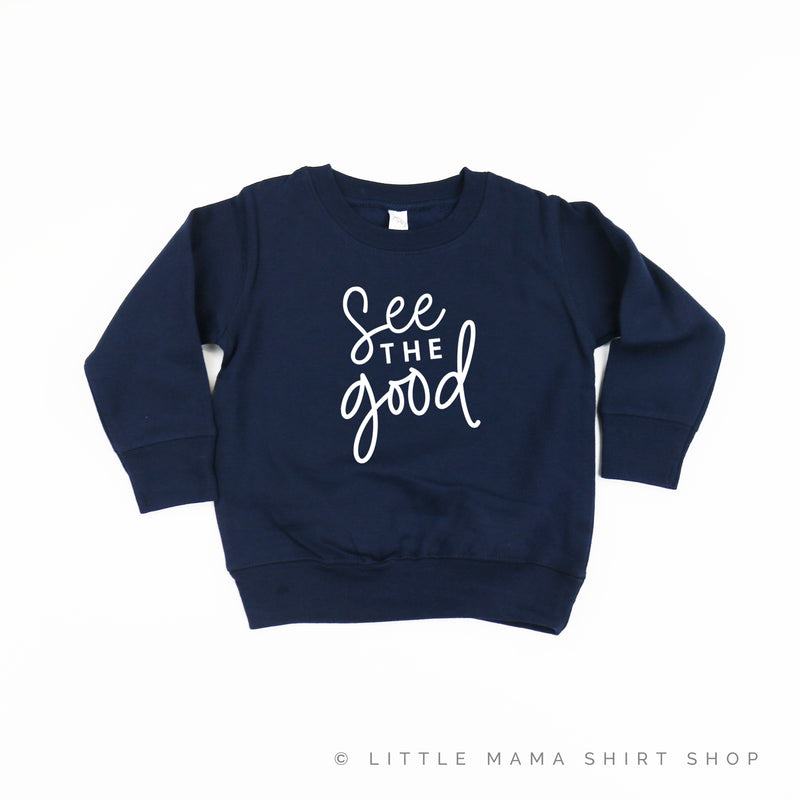See the Good - Child Sweater