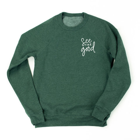 See The Good - Fleece Crewneck Sweater - DECEMBER