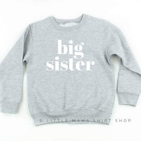 Big Sister - Child Sweater