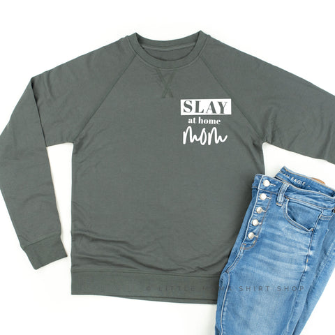 Slay at Home Mom - Lightweight Pullover Sweater