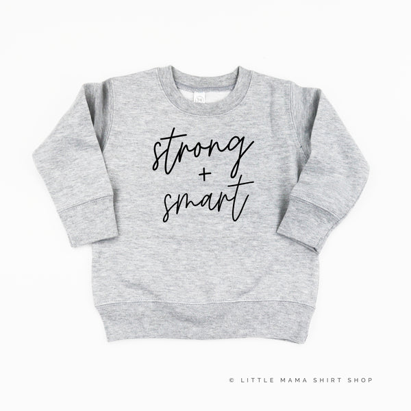 Strong and Smart - Child Sweater