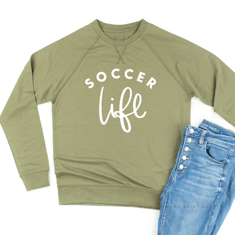 Soccer Life - Lightweight Pullover Sweater