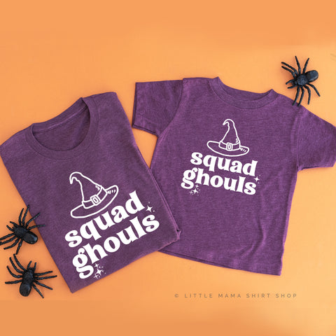 Squad Ghouls - Set of 2 Unisex Tees