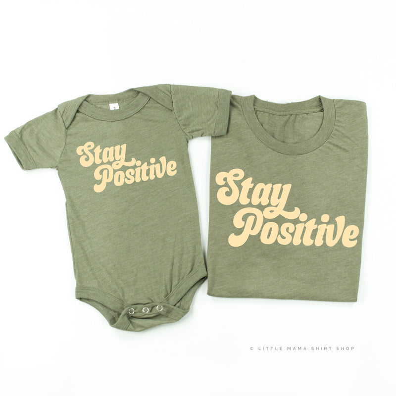 Stay Positive - Set of 2 Shirts