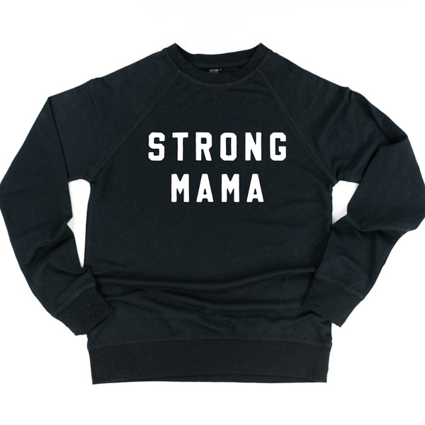 STRONG MAMA - Lightweight Pullover Sweater