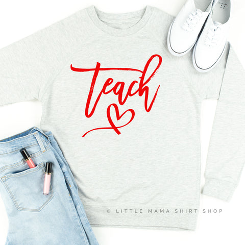 Teach - Lightweight Pullover Sweater
