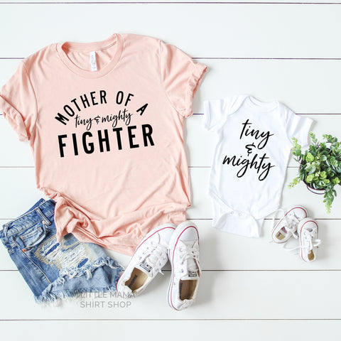 Tiny and Mighty Fighter | Set of 2 Shirts