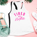 So Tired and So Happy - Mom Life - Unisex Muscle Tank