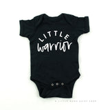 Warrior Mama & Little Warrior | Set of 2 Shirts (Black)
