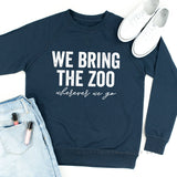 We Bring the Zoo Wherever We Go - Lightweight Pullover Sweater