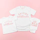 Raising Wildflowers & Little Wildflower | Set of 3 Shirts