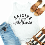 Raising a Little Wildflower | Jersey Tank