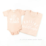 Raising a Little Wildflower & Little Wildflower | Set of 2 Shirts