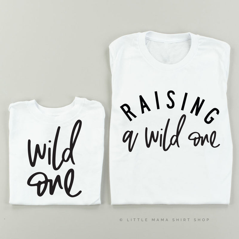 Raising a Wild One | Set of 2 Shirts