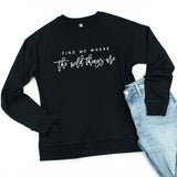 Find Me Where the Wild Things Are - Lightweight Pullover Sweater