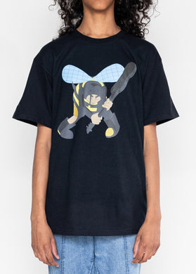 Angry Bee Tee (Black)