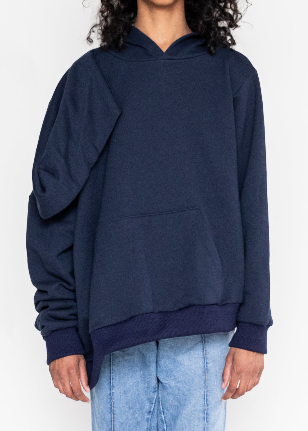 Double Head Hoody (Navy)