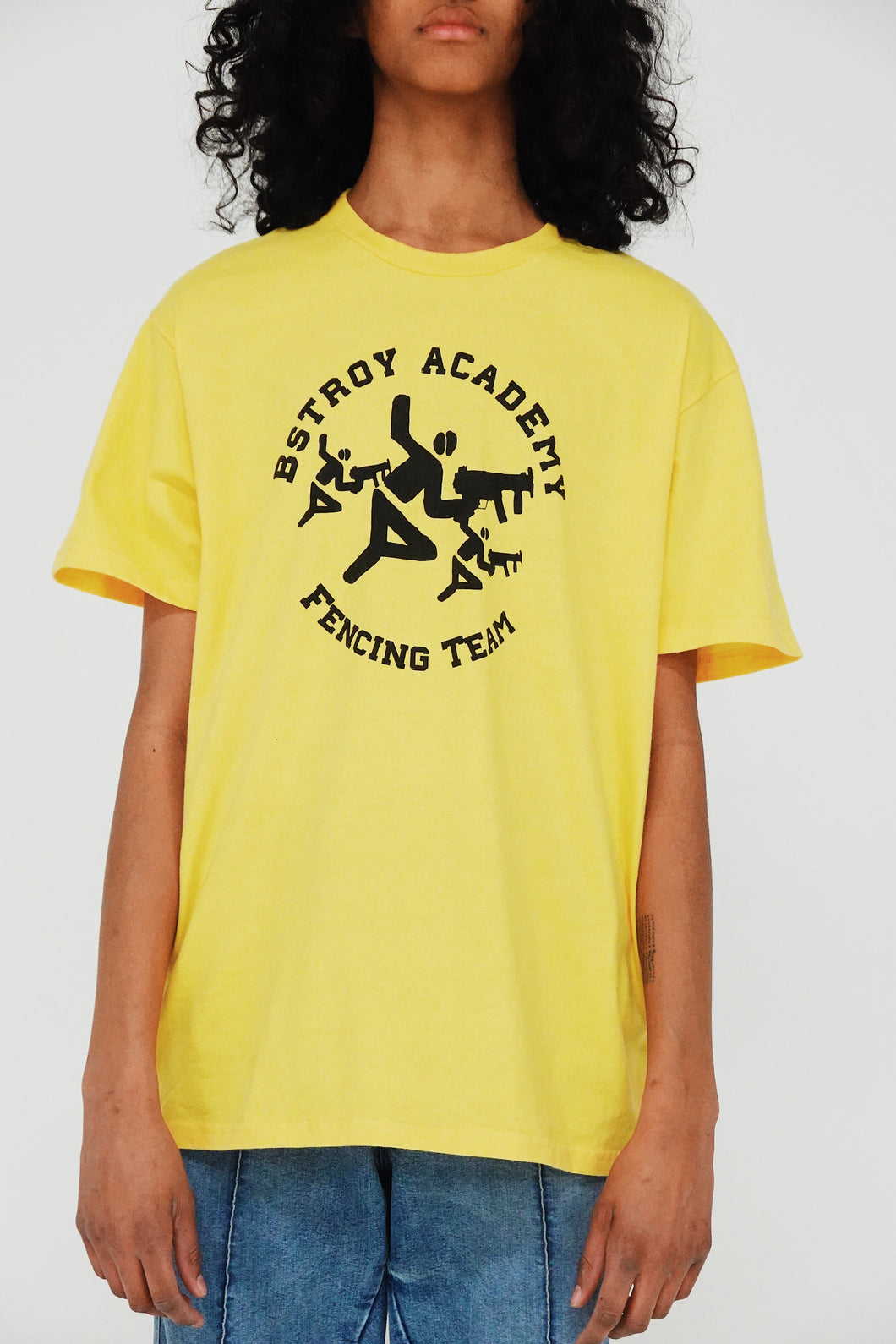 Fencing Tee (Yellow)