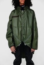 Load image into Gallery viewer, BackPack Parka (Olive)