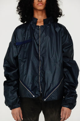 BackPack Parka (Blue)