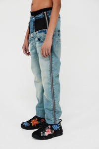 Double Edge Denim (Stonewash)