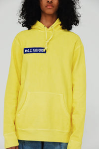 (B).S. Air Force Hoody (Yellow)