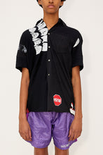 Load image into Gallery viewer, Bstroy x HommeBoy Reconstructed Button Up (Black)