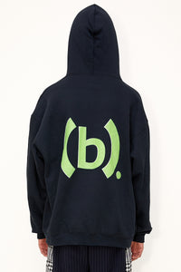 Bstroy x No Signal Headphone Hoodie (Black)