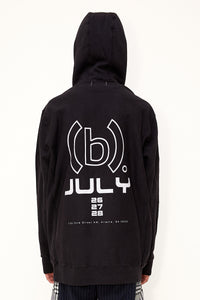 Bstroy x No Signal Mask Off Hoodie (Black)