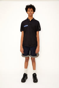 Air Force Polo (Black)