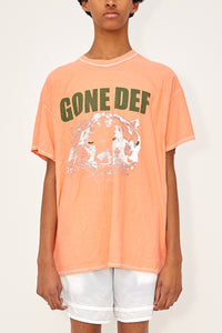 Bstroy x Blackfist Reversible Gone Def Tee (Salmon)