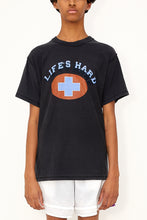 Load image into Gallery viewer, Bstroy x Blackfist Reversible Life's Hard Tee (Black)