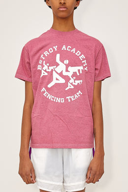 Heather Fencing Tee (Red)