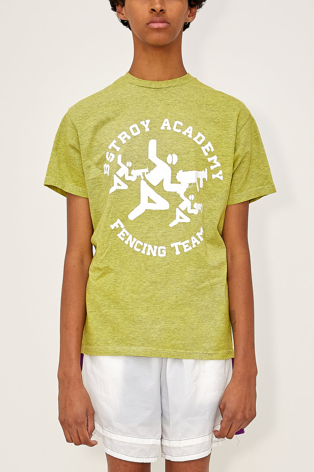 Heather Fencing Tee (Yellow)